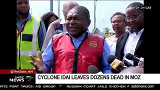 Cyclone Idai leaves dozens dead in Zimbabwe, Mozambique