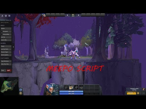 Dota 2 Advanced MEEPO Script w/ Gameplay and Download