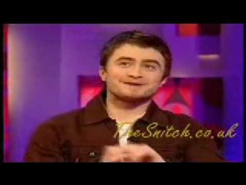 Daniel Radcliffe on Jonathan Ross Equus (part 1)
