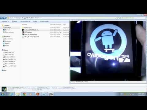 COMO INSTALAR GINGERBREAD 2.3.7 EN UN LG GT540