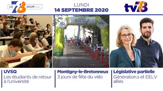 7/8 Le journal. Edition du 14 septembre 2020