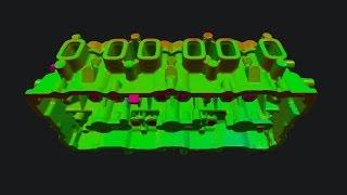 Головка блока цилиндров. Компьютерная томография