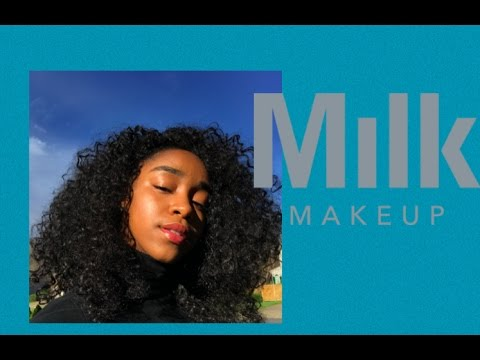 Full Face Makeup Ft. Milk Makeup