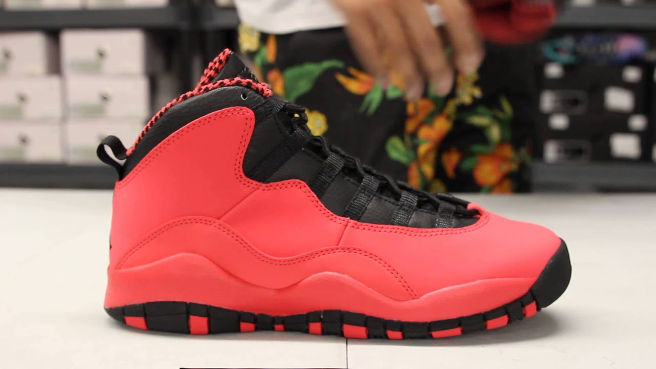 41d9c06f414444 ... coupon code for womans gs air jordan x fusion red unboxing video at  exclucity 562fb f1055