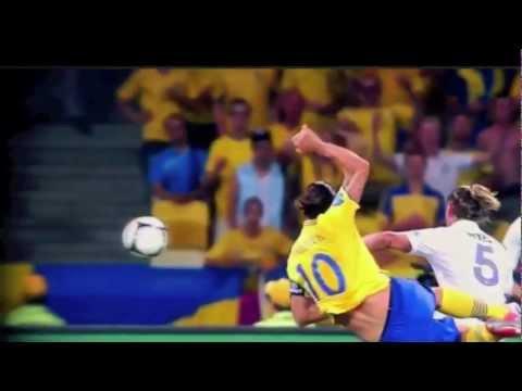 Zlatan Ibrahimovic Golazo - Sweden v France Euro 2012
