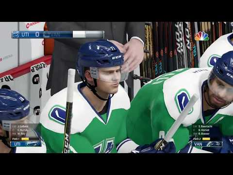NHL 18 - Utica Comets vs Vancouver Canucks Full Gameplay