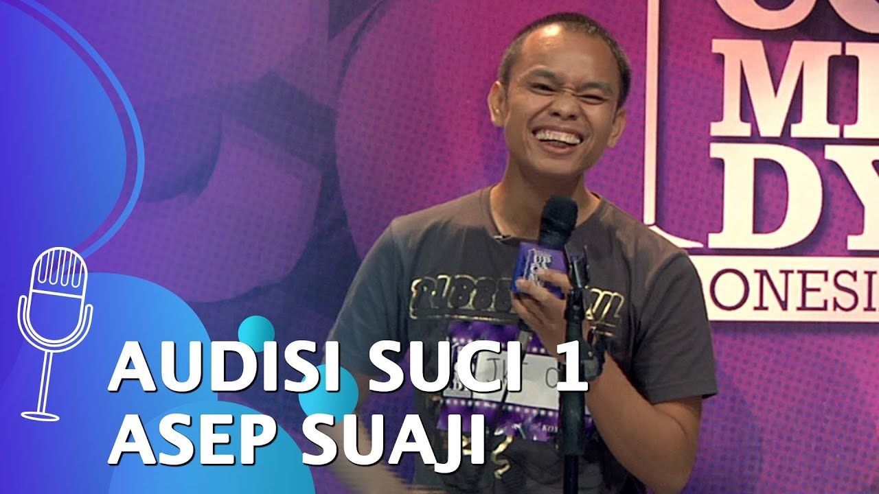 Stand Up Comedy Indonesia Season 1 - Audisi: Asep Suaji, Nervous Dilihat Astrid Tiar