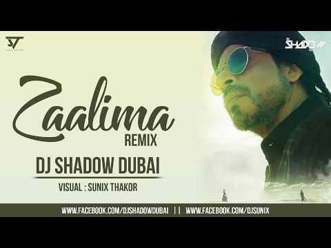 Raees | Zaalima | DJ Shadow Dubai Remix | Shah Rukh Khan & Mahira Khan