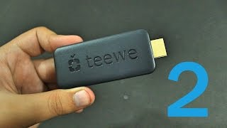 Teewe 2 HDMI Dongle : Unboxing (Box Contents) & Demo !