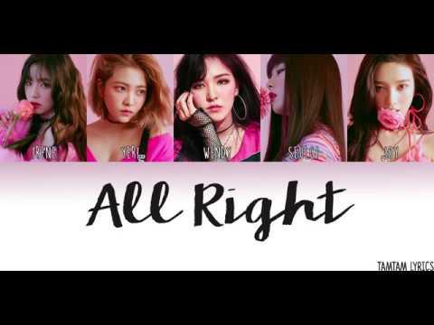 Red Velvet – All Right