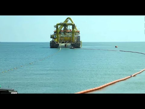 Boskalis   Galloper Export Cable installation