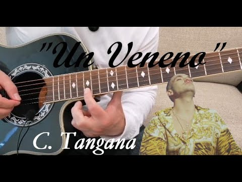 How to play 'Un Veneno' by C. Tangana on guitar. Cover/ Tutorial by Anything Strings