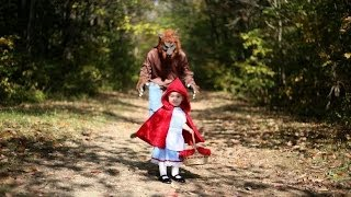 Halloween 2013 - Little Red Riding Hood meets the Big Bad Wolf