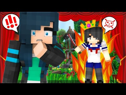 Yandere High School - YANDERE IS AN EVIL KILLER WITCH!! DRAMA CLASS!? [S2: Ep.18 Minecraft Roleplay]