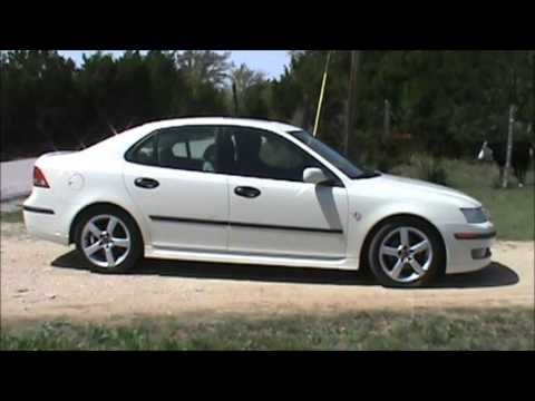 2003 saab 9 3 white youtube. Black Bedroom Furniture Sets. Home Design Ideas
