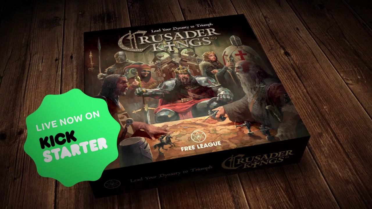 paradox board games crusader kings youtube