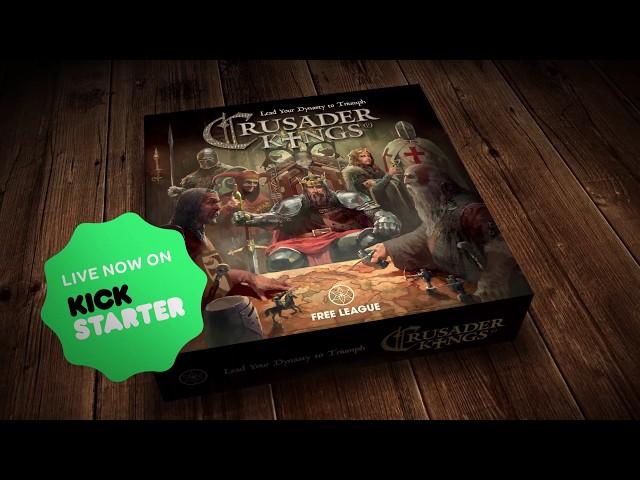 PARADOX Board Games Crusader Kings