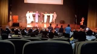 Saudi Arabia Dancing performance in MDU University Rohtak internationa