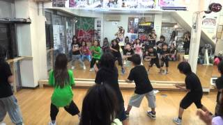 BONNY DANCE STUDIO HIP HOP LESSON.