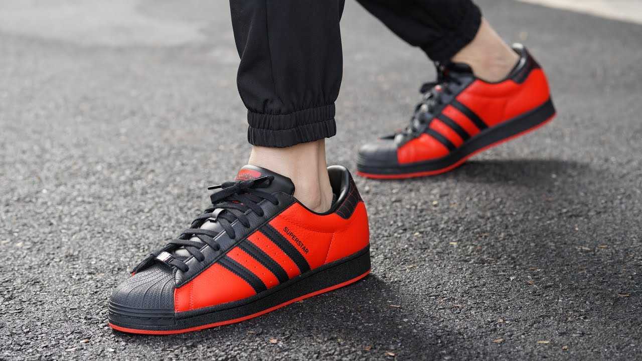 Adidas Spider-Man Miles Morales Superstar Shoes REVIEW & ON FEET - From the Video Game to Reality