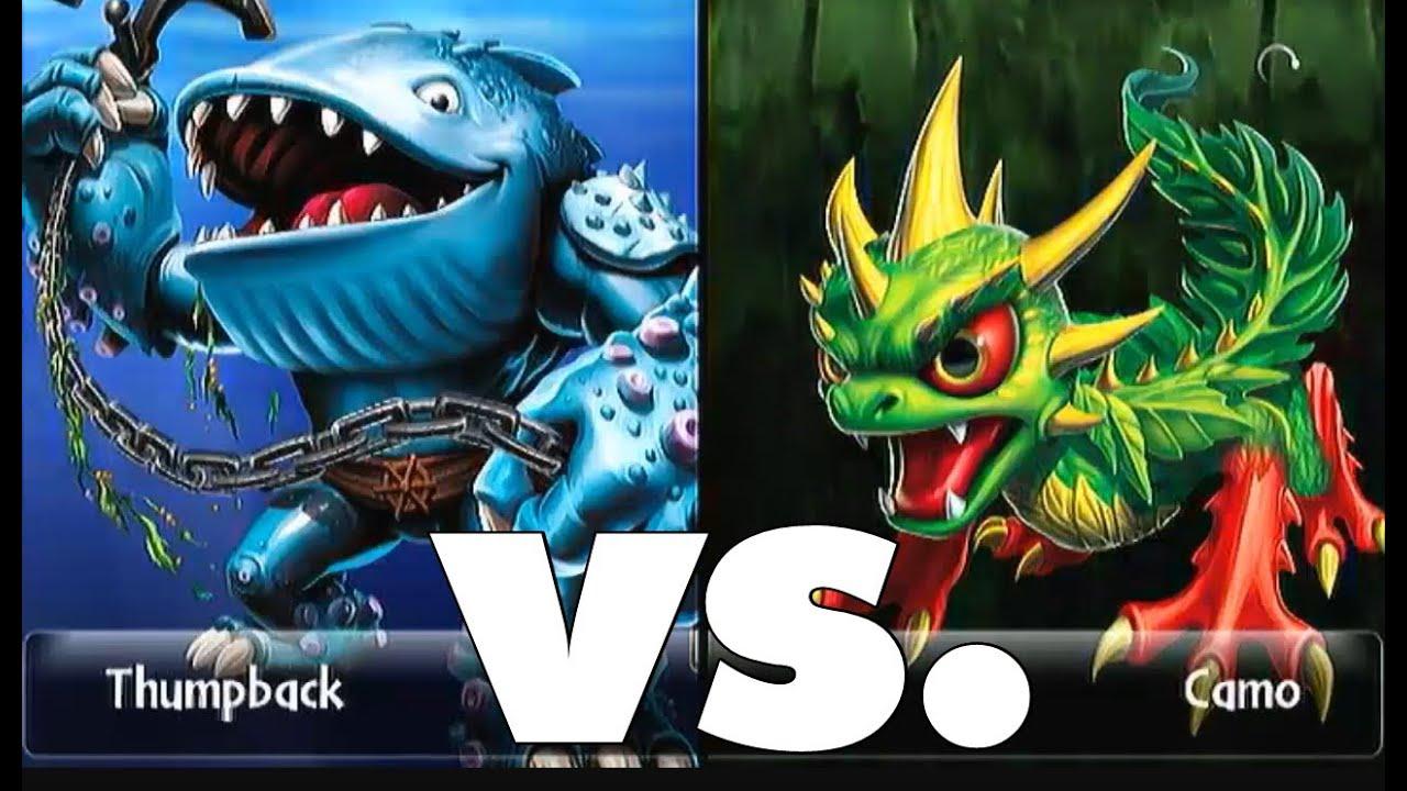 Skylanders giants thumpback 15 vs camo 15 lets play duellmodus german deutsch youtube - Skylanders thumpback ...
