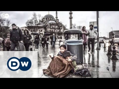 Syrian children in the streets of Istanbul | My picture of the week