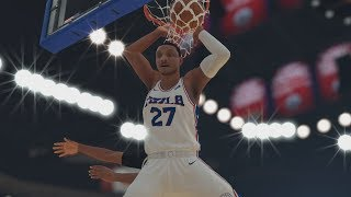 NBA 2K19 My Career EP 72 - Giannis Didn't Jump! SFG1
