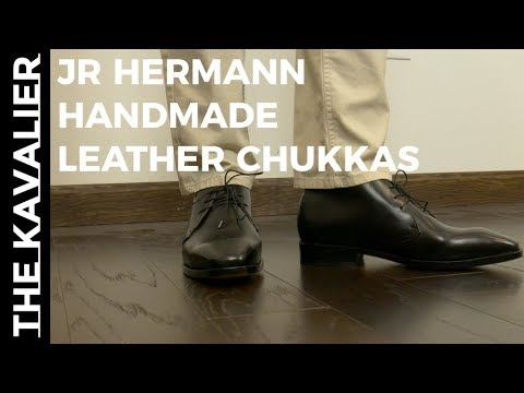 JR Hermann Handmade Shoes Unboxing
