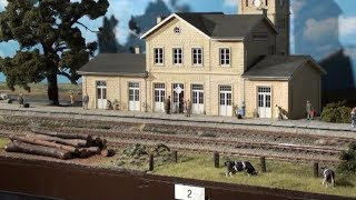 Expo trains  Luxembourg-Walferdange 2017 - reportage video