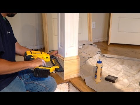 Installing Trim without A Tape Measure