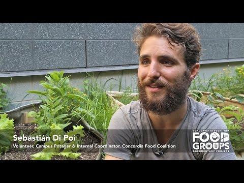 Sebastián Di Poi on an ideal food system at Concordia