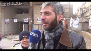 مظاهرات في بلدات الغوطة الشرقية تضامنا مع وادي بردى