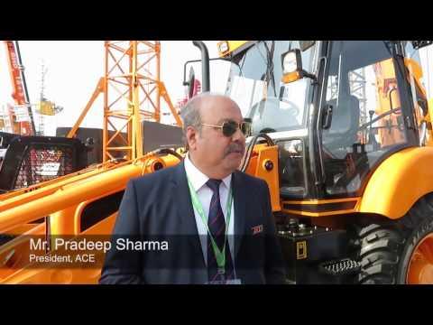 Action Construction Equipment Ltd (ACE) - bauma Conexpo India 2016