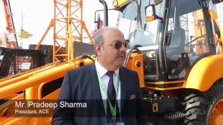 Action Construction Equipment Ltd (ACE) - bauma Conexpo India 2016