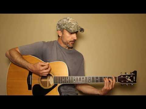 Riser - Dierks Bentley - Guitar Lesson | Tutorial