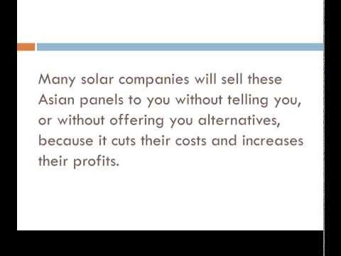 Tips On Selecting The Best Solar Energy Company