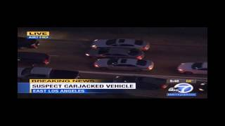 Carjacking Suspect Shot