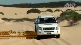 Isuzu D-MAX Sand Driving Tips Bruce Garland.mp4