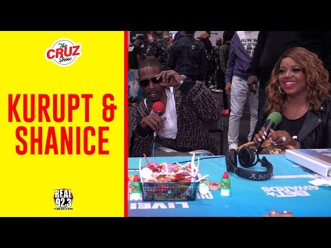 Kurupt & Shanice Talk w/ The Cruz Show at The BET Awards 2019