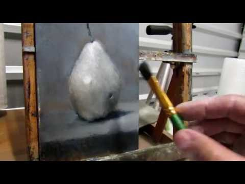 How to paint a Grisaille style painting. Part 1 - Art demo Time-lapse
