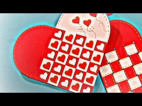 San Valentin: Cómo hacer una tarjeta...