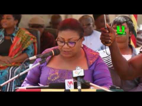 First Lady inaugurates CHPS compound at Nyanshegu