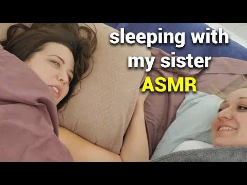 [ASMR] Sleeping with my Sister for 5 Hours
