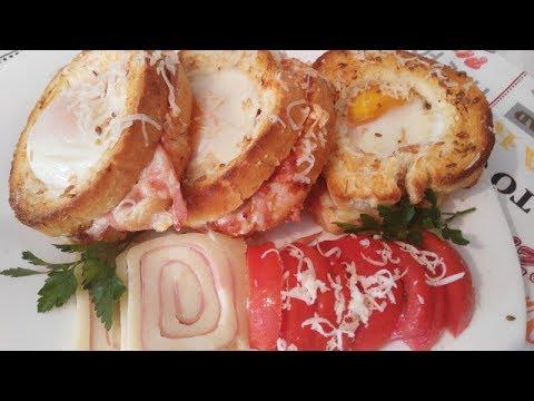 Bakina kuhinja - odličan  pizza sendvič doručak za tren oka