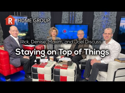 Staying On Top of Things — Home Group