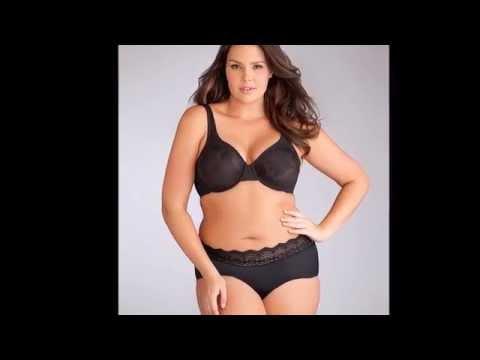 Candice Huffine Plus Size Lingerie. http://bit.ly/2KBtGmj
