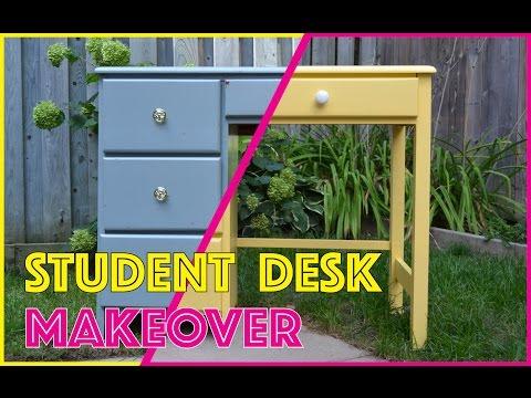 DIY BACK TO SCHOOL:: STUDENT DESK MAKEOVER