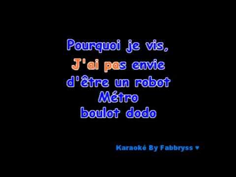 S.O.S D'un Terrien En Détresse - Grégory Lemarchal - Karaoké FKA