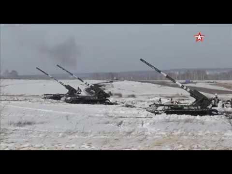 По навесной траектории: самоходки «Малка» поразили цели «врага» на Кузбассе
