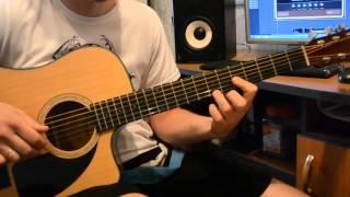 The Beatles - Yesterday (full song on guitar with tab). Песня Битлз - Естердэй  на гитаре